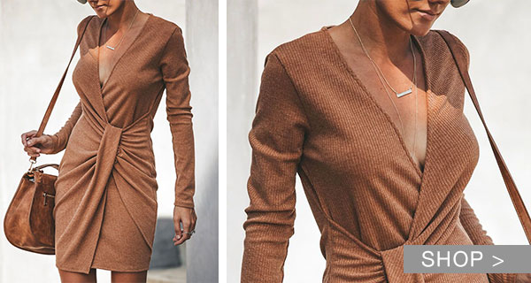 THE SWEATER DRESS TREND