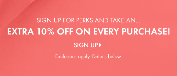 Sign-Up For Perks