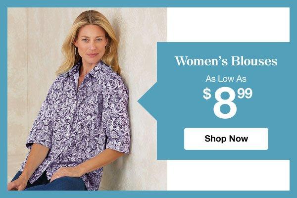 Shop Women's Blouses!
