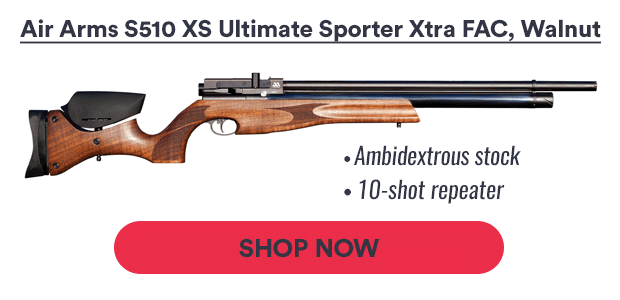 Pyramyd Air: It's here! The Regulated S510 from Air Arms
