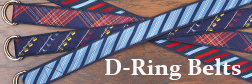 D-ring belts