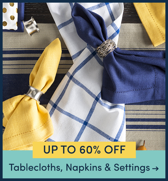 Tablecloths, Napkins