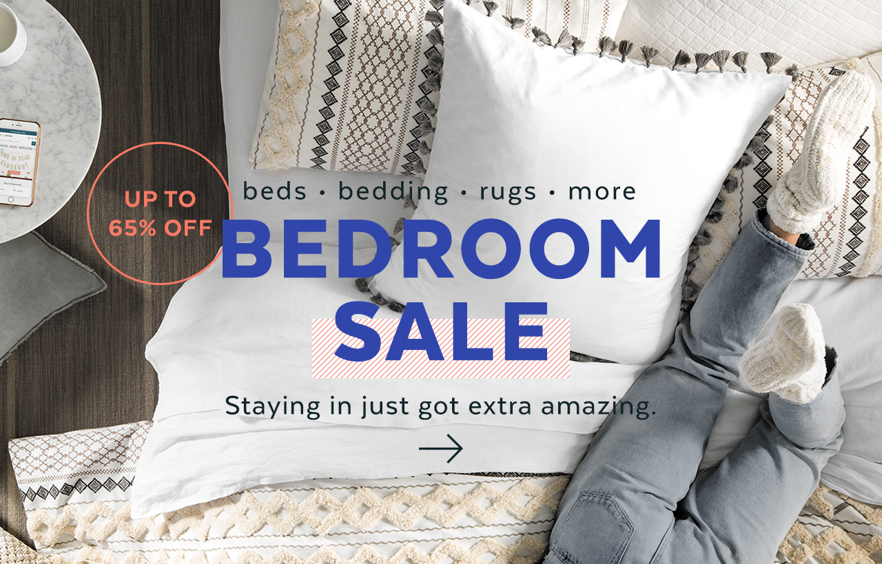 Bedroom and Bedding Sale
