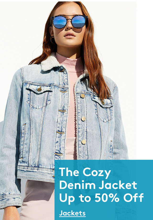 The Cozy Denim Jacket Up to 50% Off | Jackets