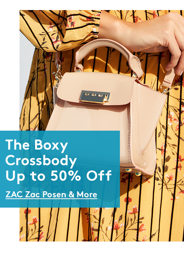 The Boxy Crossbody Up to 50% Off | ZAC Zac Posen & More