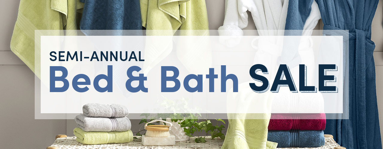 Bed & Bath ends 1/18