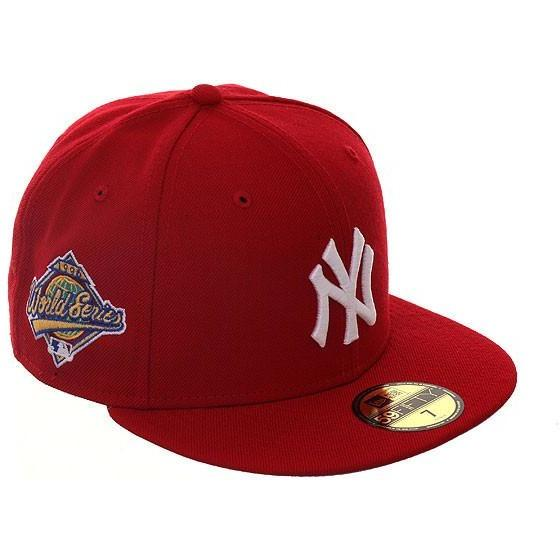 8007c562ef762a Exclusive New Era 59Fifty New York Yankees 1996 World Series Hat - Red