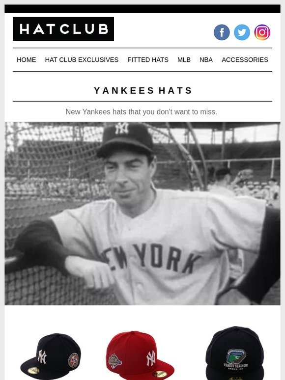 2ee087055e3 Hat Club  Yankees Hat You Can t Miss