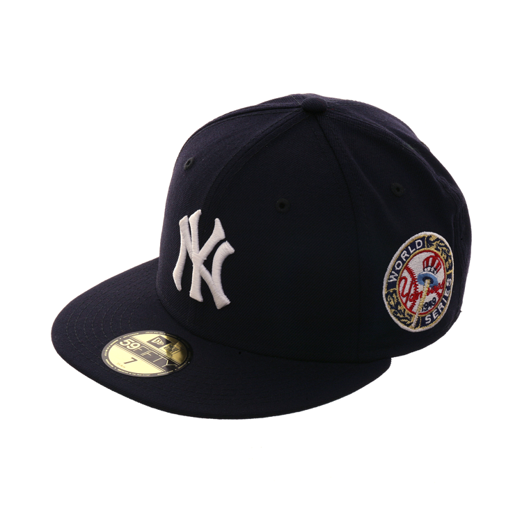 brand new de8a8 c009f New Era 59Fifty New York Yankees 1949 World Series Patch Game Hat - Navy