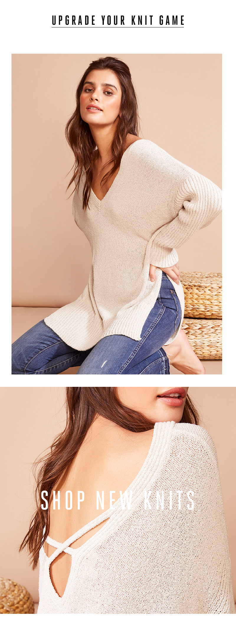 Shop new knits