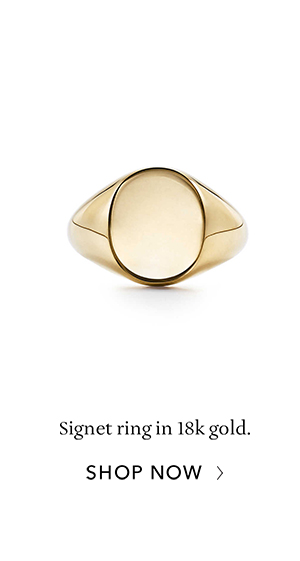 Shop Now: Gold Signet Ring