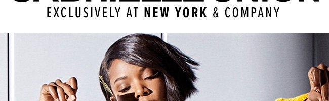 Gabrielle Union Exclusives