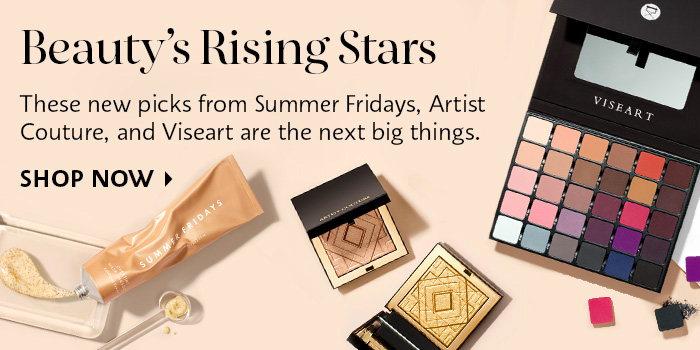 Shop Now Beauty's Rising Stars