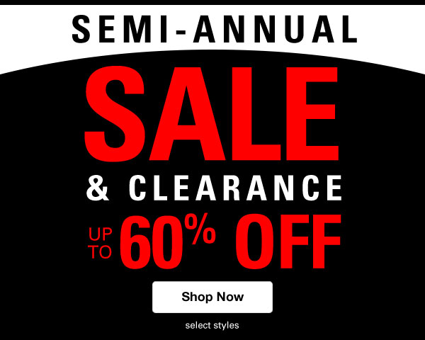 Shop Men's Semi-Annual Sale & Clearance!
