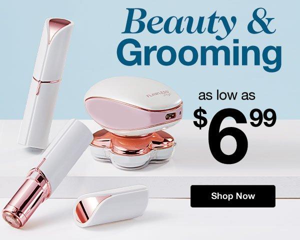 Shop Beauty & Grooming!