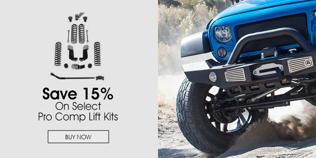 Save 15% On Pro Comp Stage 2 Kits