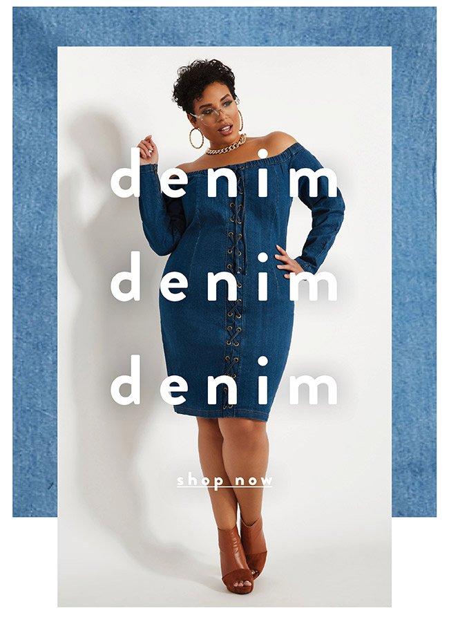 Denim Denim denim - Shop Now