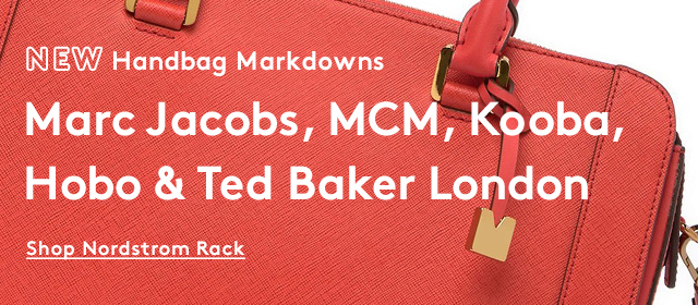 New Handbag Markdowns | Marc Jacobs, MCM, Kooba, Hobo & Ted Baker London | Shop Nordstrom Rack