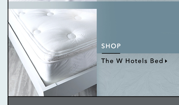 Shop W Hotels Bed