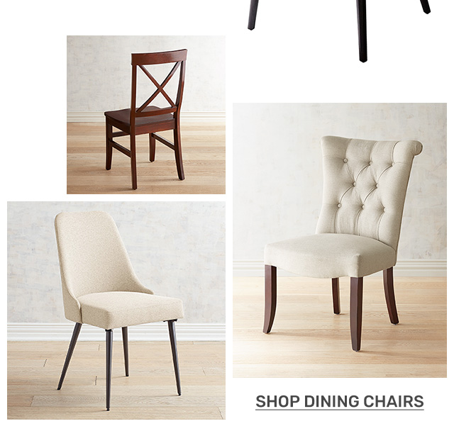 Shop select dining chairs on sale now.
