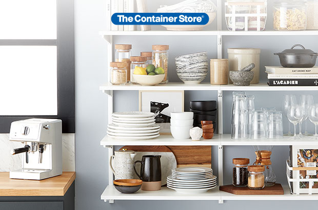 The Container Store: 30% OFF More Space For Your Kitchen ...