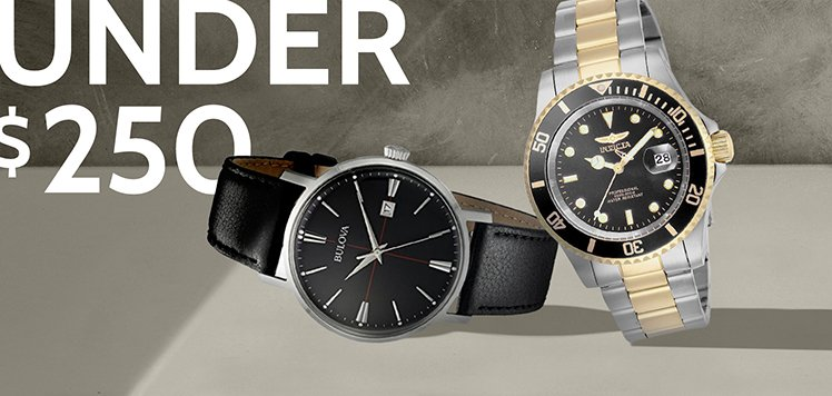 250 Watches for Men