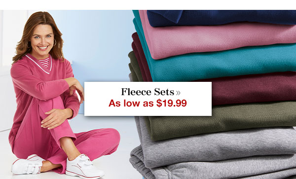 Shop Fleece Sets!