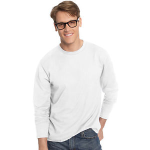 Click here for more details on Hanes Mens Long Sleeve Tee...