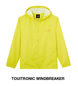 Touitronic windbreaker