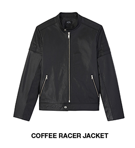 Coffee racer jacket