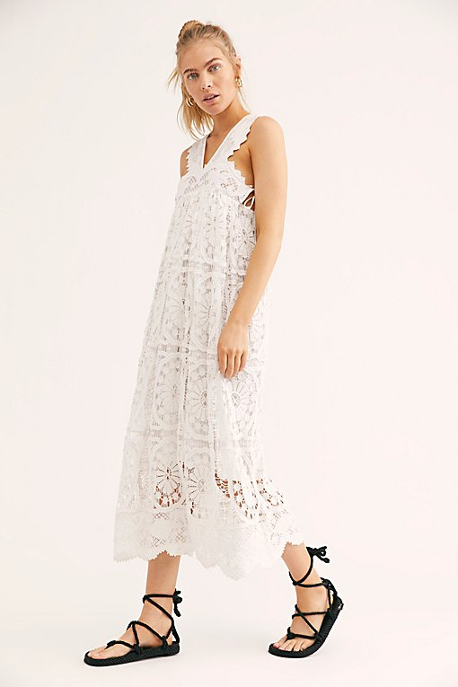 Foix Lace Maxi Dress