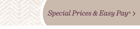 Special prices & Easy Pay