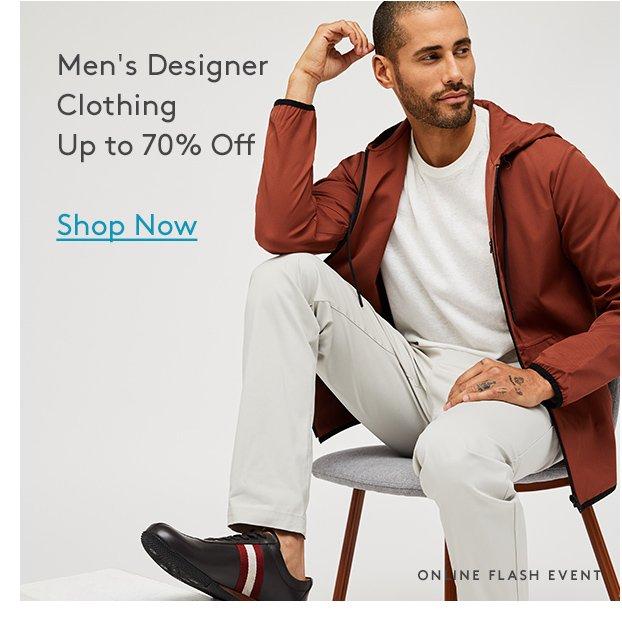 Men's Designer Clothing | Up to 70% Off | Shop Now | Online Flash Event