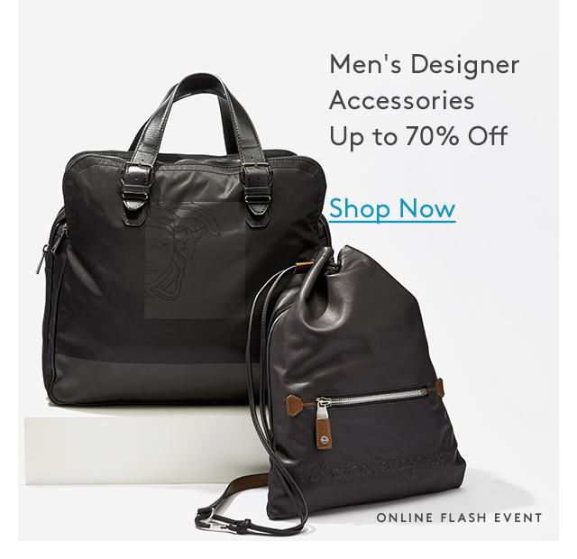 Men's Designer Accessories | Up to 70% Off | Shop Now | Online Flash Event