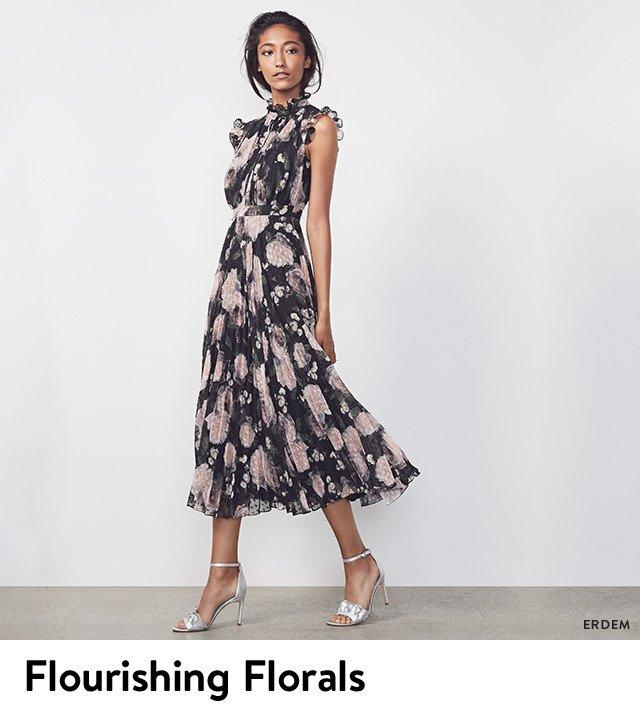 Flourishing florals: new designer arrivals.