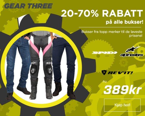 8b2a1238 XLMoto : GIR OPP! 20-70% RABATT på alle bukser! | Milled