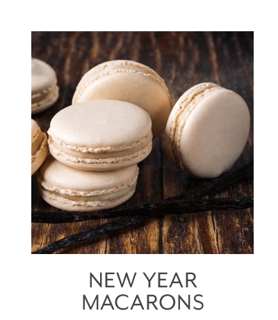 New Year Macarons