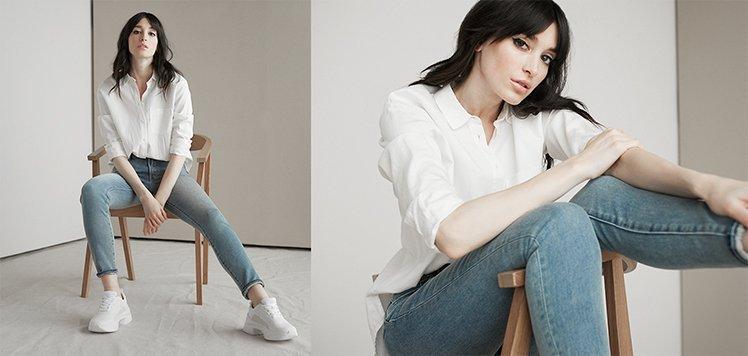 Skinnies With Mavi Jeans