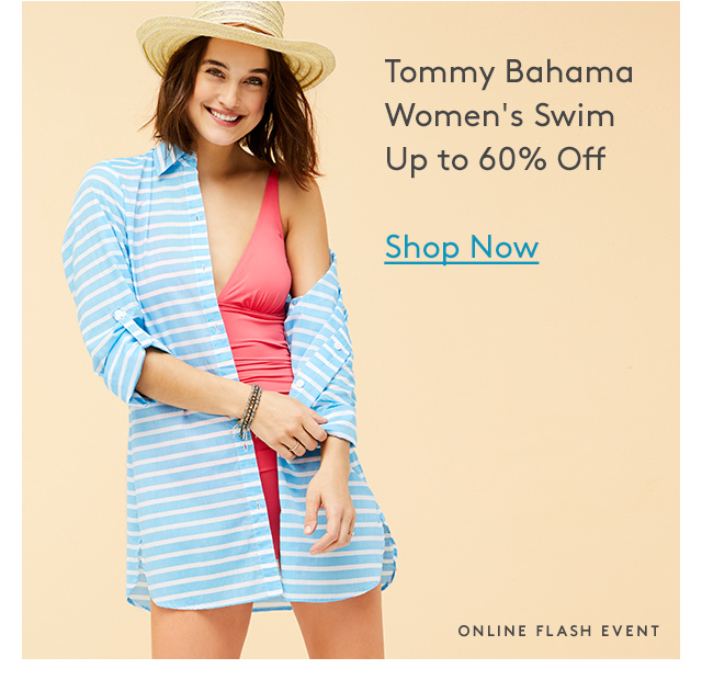 Tommy Bahama Women's Swim Up to 60% Off | Shop Now | Online Flash Event