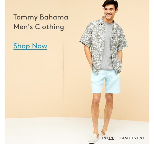 Tommy Bahama Men's Clothing | Shop Now | Online Flash Event