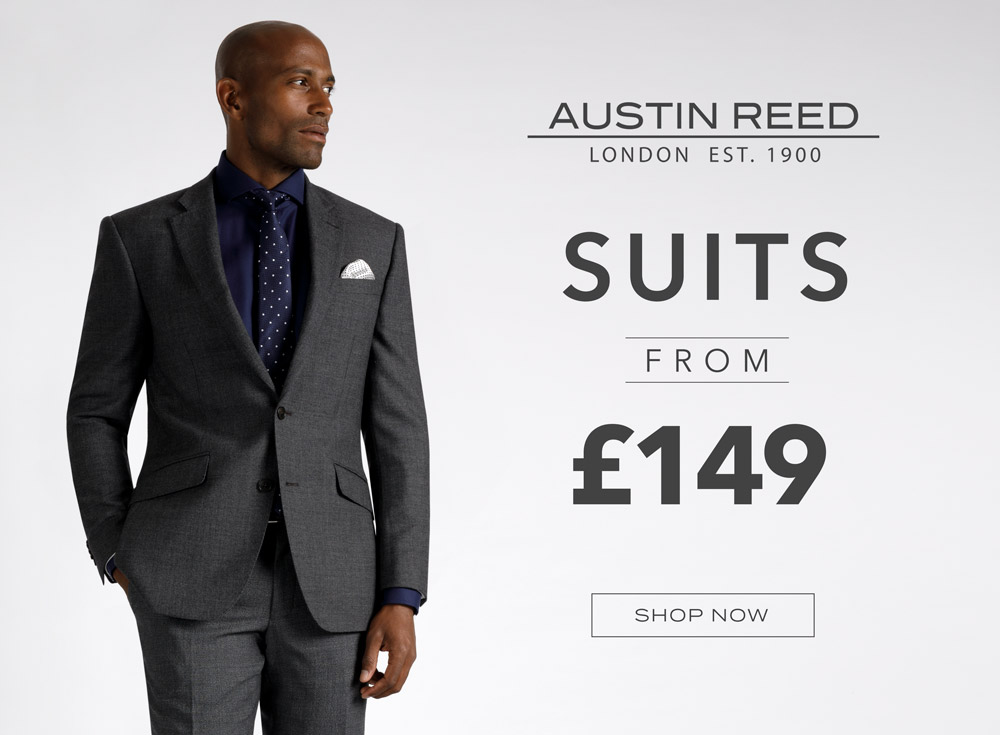 Austin Reed Further Reductions Austin Reed Suits From 149 Milled