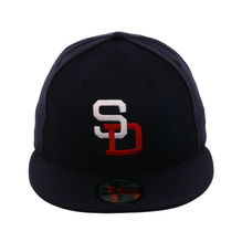 best service 466ce afc28 Exclusive New Era 59Fifty PCL Padres Hat - Navy