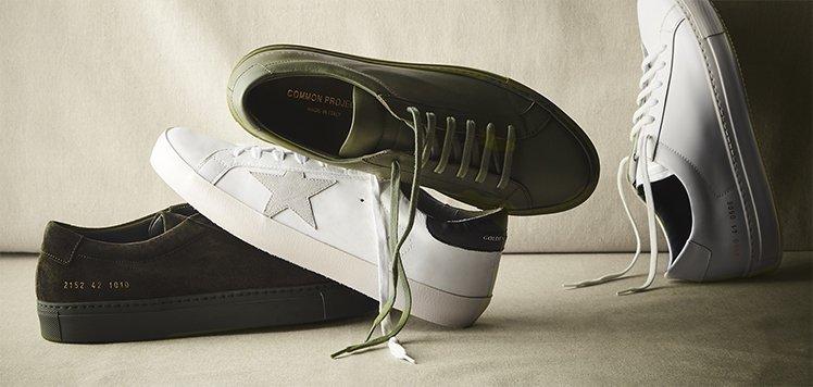 Men's Sneaker Drop With Golden Goose