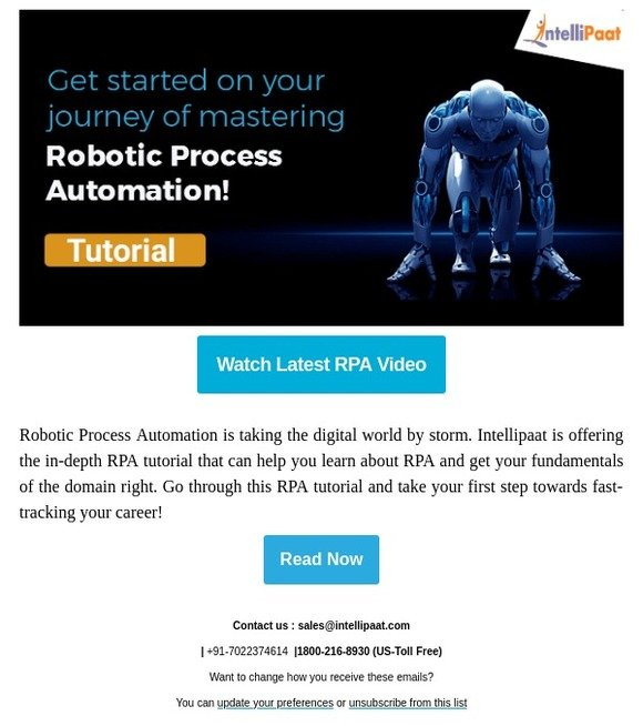 Intellipaat: Robotic Process Automation Tutorial | Milled