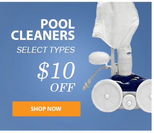 $10 Off Pool Cleaners