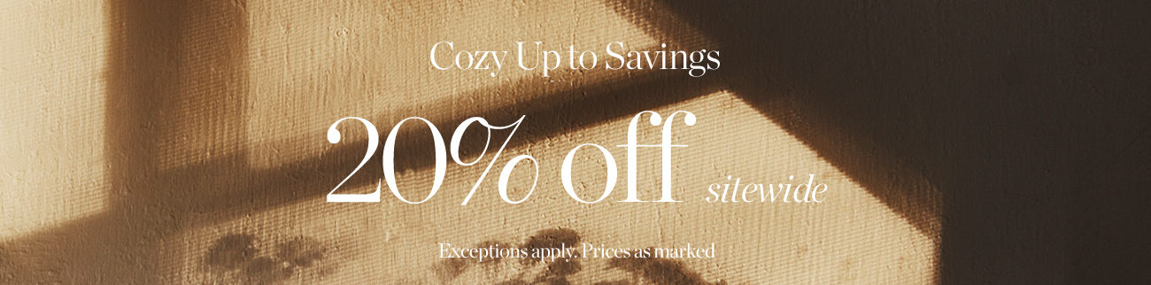 20% off sitewide