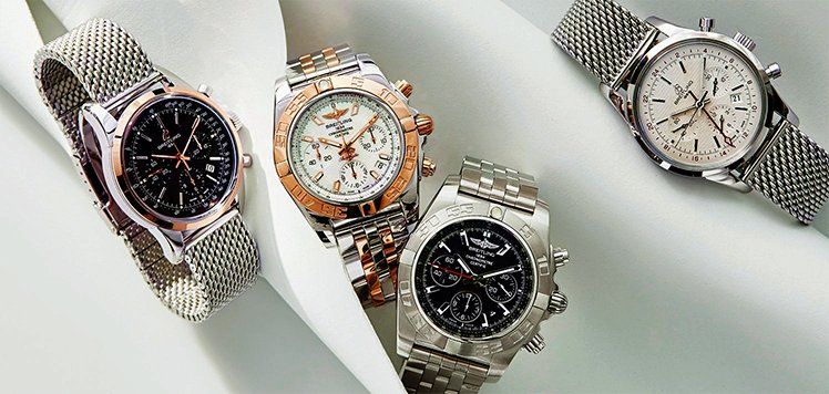 Vintage Breitling & More Men's Watches