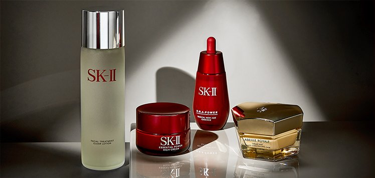Anti-Aging Skincare With Guerlain & SK-II