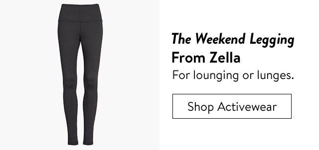 Zella leggings for workouts or resting.