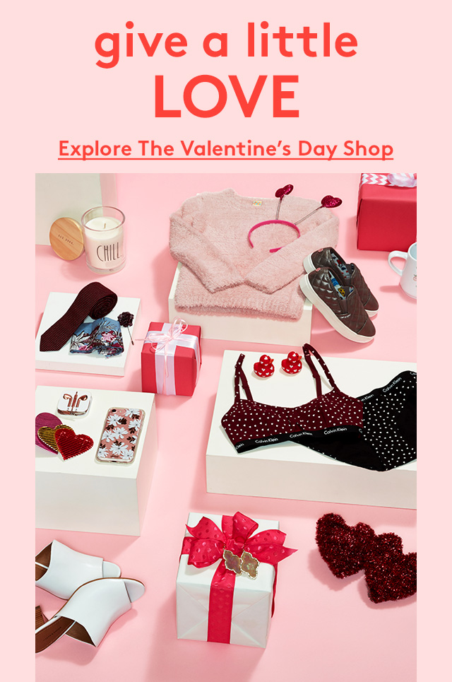 Give a little love | Explore the Valentine's Day Shop